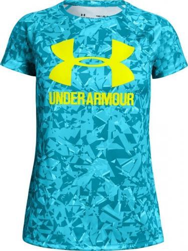 Under Armour Koszulka dziecięca Big Logo Tee Novelty SS niebieska r. 137-149 (1331671-439)