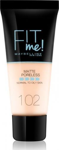 Maybelline  Fit Me! Matte Poreless 102 Fair Ivory 30 ml