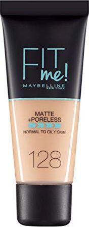 Maybelline  Fit Me! Matte + Poreless 128 Warm Nude 30 ml
