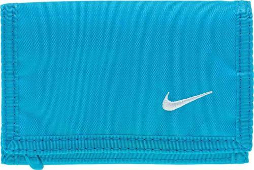 Nike Portfel Basic Wallet błękitny