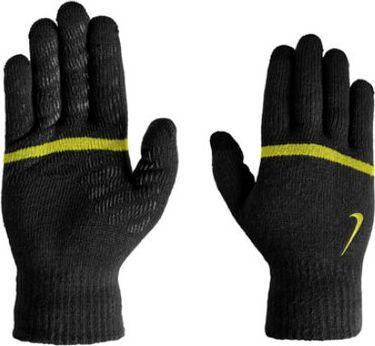 Nike Rękawiczki sportowe Stripe Knitted Tech and Grip czarne r. uniwersalny (N.WG.J0.077.SM)