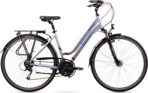 """Romet Rower turystyczny Gazela 4 28"""" srebrny"""