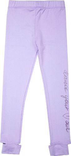 4f Spodnie dziewczęce fioletowe r. 98