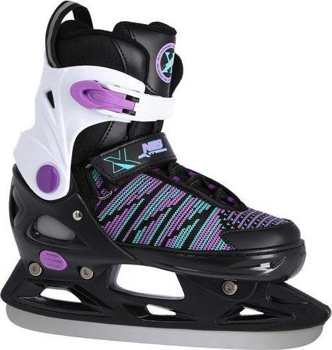 NILS Extreme Łyżwy hokejowe czarne r. 29-32 (NH2255 A)