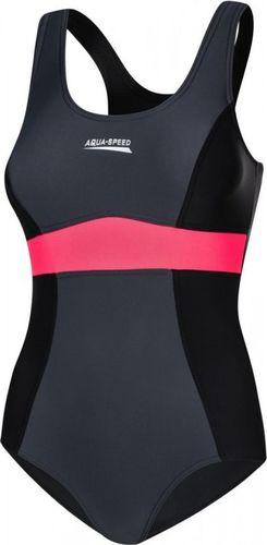 Aqua-Speed Strój kąpielowy Sylwia czarny r. 36 (7009-137)