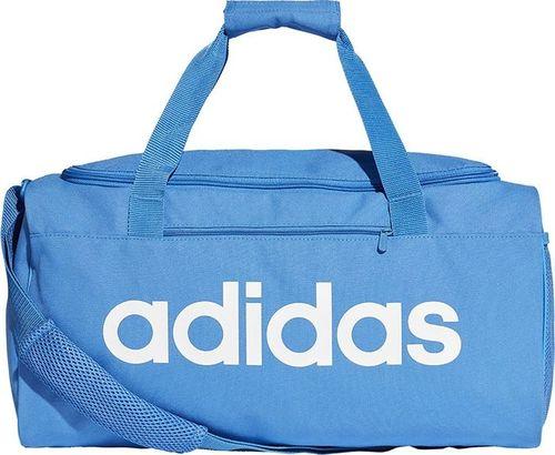 Adidas Torba adidas Lin Core Duf S DT8623 DT8623 niebieski