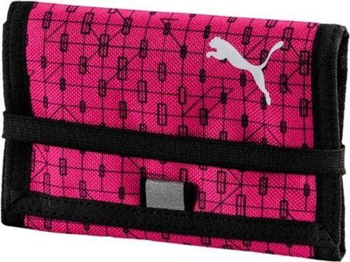 Puma Portfel Puma Beta Wallet 075619 03 075619 03 różowy one size
