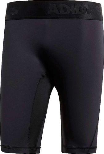 Adidas Legginsy męskie Alphaskin Short czarne r. L (CF7299)