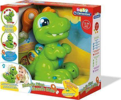 Clementoni Interaktywny dinozaur w języku litewskim Baby