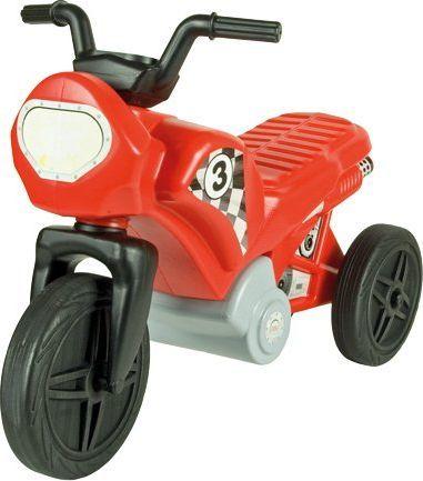 Mochtoys Jeździk motor czerwony