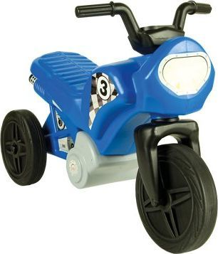 Mochtoys Jeździk motor niebieski (10232)