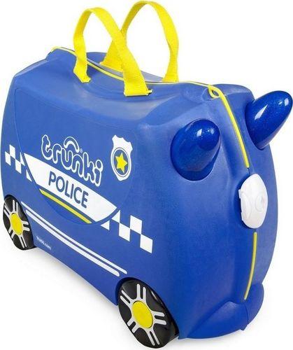 Trunki Vaikiškas lagaminas Trunki Percy Police car