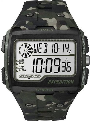 Zegarek Timex Zegarek Timex TW4B02900 Expedition Shock XL Grid uniwersalny