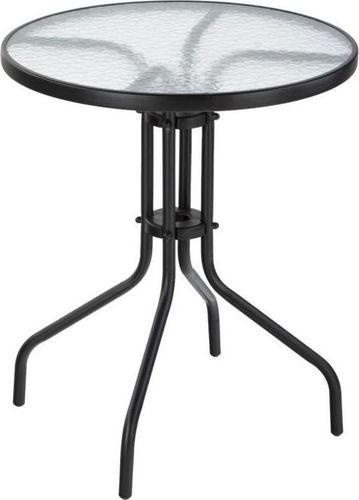 Lauko staliukas Bistro, juodas