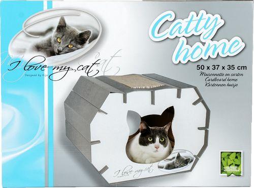 Ambition Ryga Dom dla kotów Kocham mojego kota 50x37x35cm