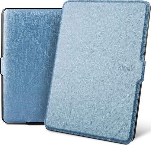 Pokrowiec Alogy Etui Alogy Leather Smart Case Kindle Paperwhite 1/2/3 Niebieskie z połyskiem uniwersalny