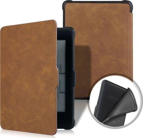 Pokrowiec Alogy Etui Alogy Smart Case Kindle Paperwhite 1/2/3 Brązowe uniwersalny
