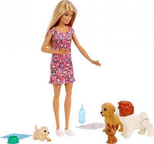 Mattel Barbie Opiekunka piesków lalka z akcesoriami FXH08