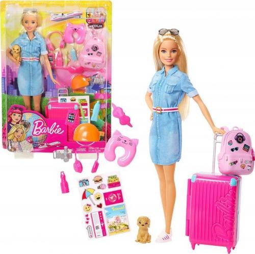 Mattel Dreamhouse Adventures Barbie. Barbie w podróży (FWV25)