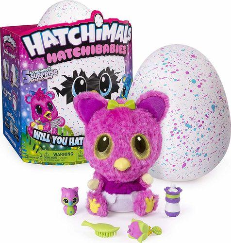 Hatchimals Zwierzątko interaktywne HatchiBabies Cheertree (6044072)