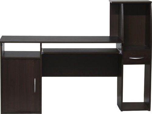 Biurko Kompiuterinis stalas Agat, tamsiai rudas