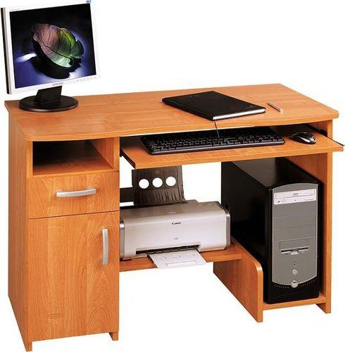 Biurko Kompiuterinis stalas Mikolaj, rudas