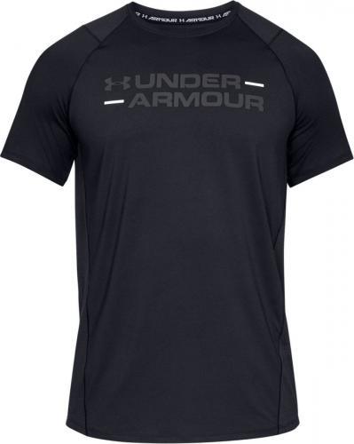 Under Armour Koszulka męska MK1 SS Wordmark czarna r. L (1327248-001)