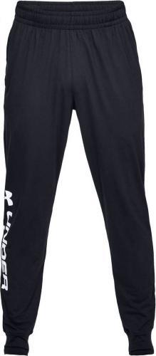 Under Armour Spodnie męskie Sportstyle Cotton Graphic Jogger czarne r. S (1329298-001)