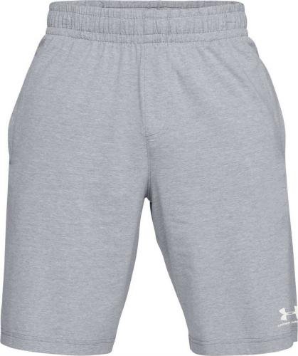 Under Armour Spodenki męskie Sportstyle Cotton Short szare r. S (1329299-035)