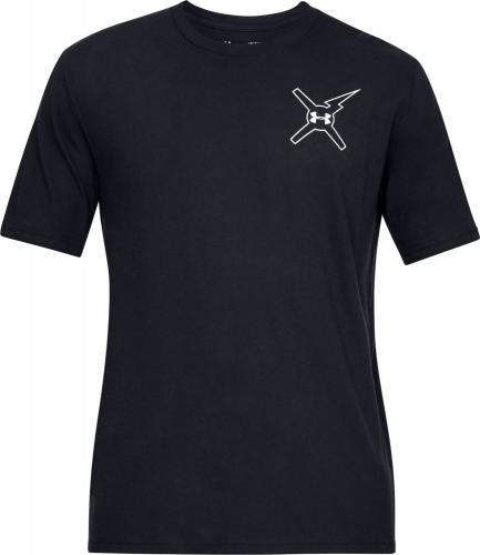 Under Armour Koszulka męska Wait For Nobody czarna r. M (1329601-001)