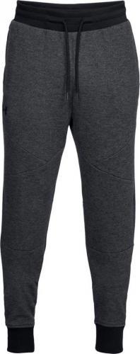 Under Armour Spodnie męskie Unstoppable 2x Knit Jogger czarne r. S (1320725-001)