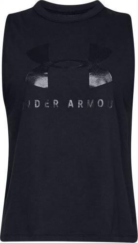 Under Armour Koszulka damska Sportstyle Graphic Muscle Tank czarna r. S (1344150-001)