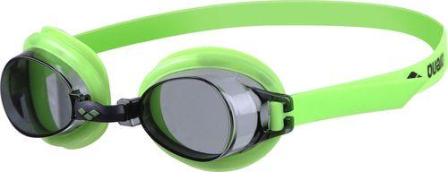 Arena Okulary pływackie Bubble 3 junior czarno-zielone