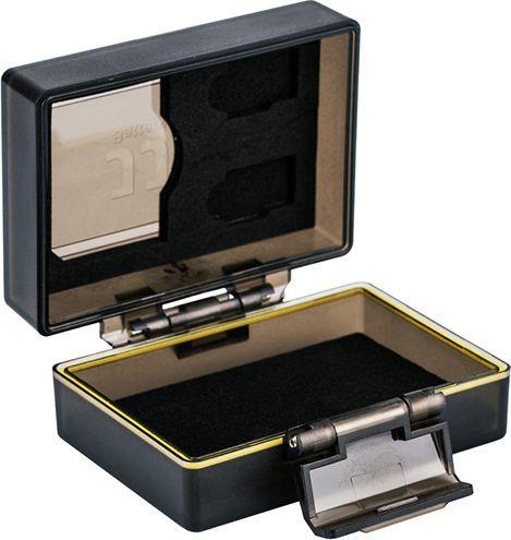 Pokrowiec JJC Pudełko Futerał Na Akumulator + Karty Sd / Microsd - Uniwersalne