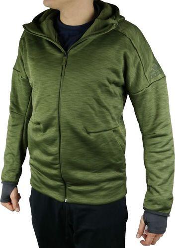 Adidas bluza męska S rozpinana zielona klasyczna