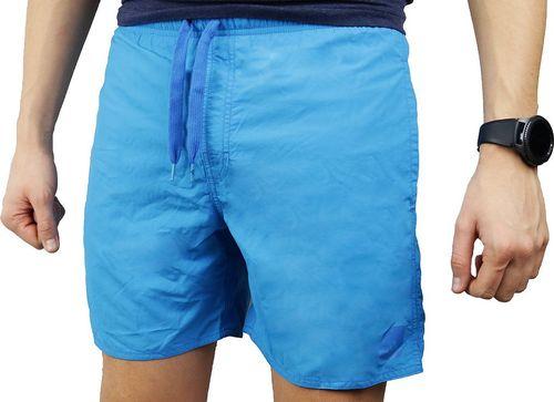 Adidas Spodenki męskie Solid Short SL niebieskie r. XL (AK0176)