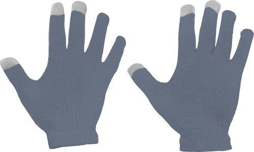 Hurtel Uniwersalne zimowe rękawiczki do ekranów dotykowych szary uniwersalny