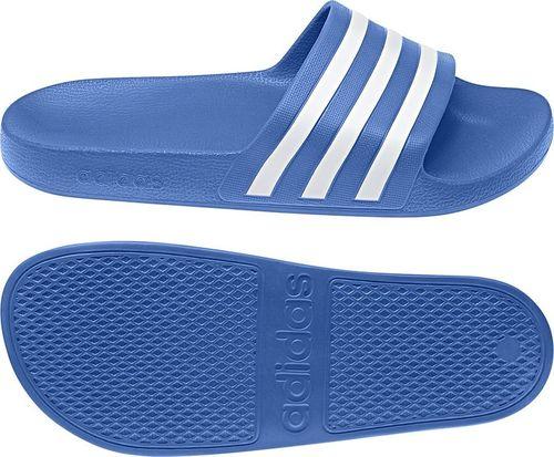 Adidas Klapki adidas Adilette Aqua F35541 F35541 niebieski 46