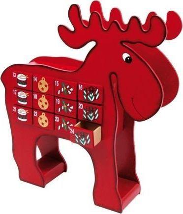 Small Foot Kalendarz adwentowy dla dzieci Renifer Rudolf uniw