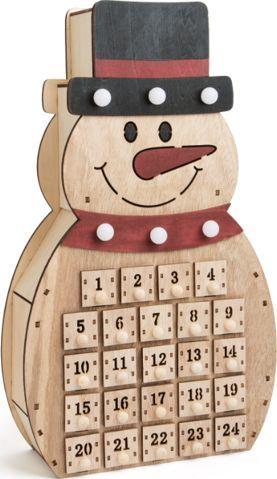 Small Foot Kalendarz adwentowy dla dzieci - Bałwanek uniw