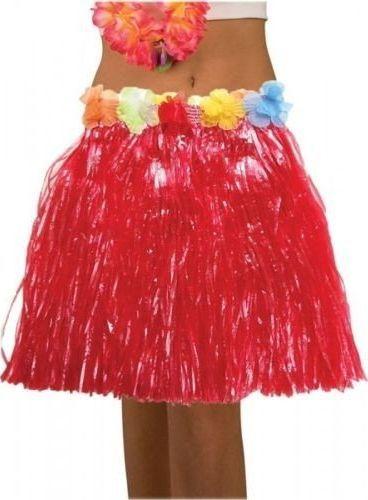 Aster Spódnica hawajska eko czerwona 45 cm uniw