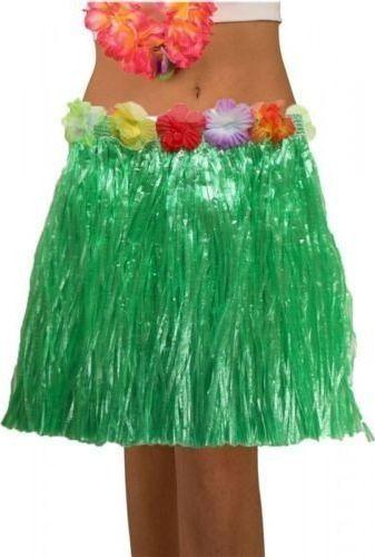 Aster Spódnica hawajska eko zielona 45 cm uniw
