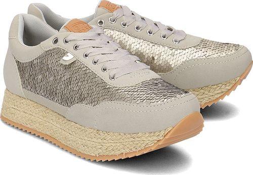 Gioseppo Gioseppo - Sneakersy Damskie - 40340-47 SILVER 41