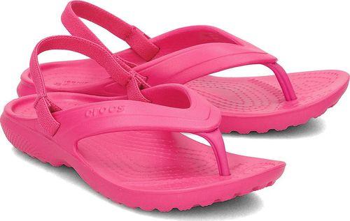 Crocs Crocs Classic Flip - Sandały Dziecięce - 202871 CANDY PINK 25/26