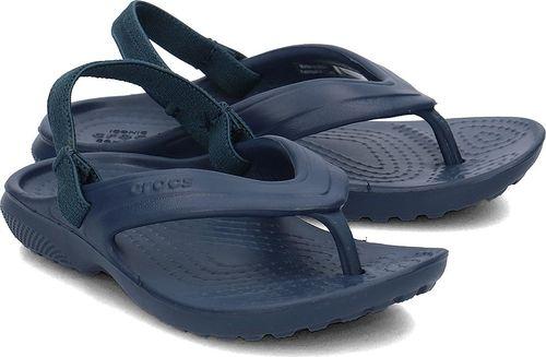 Crocs Crocs Classic Flip - Sandały Dziecięce - 202871 NAVY 27/28