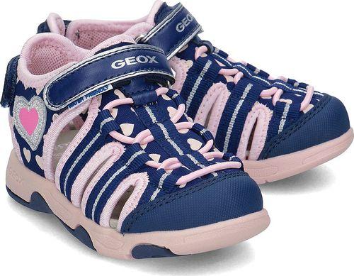Geox Geox Baby Sand. Multy - Sandały Dziecięce - B820DA 05415 C0694 23