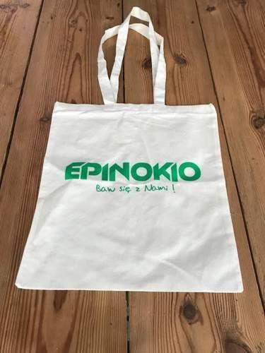 Goki Bawełniana torba EKO na zakupy, duża i mocna, 42cm uniw