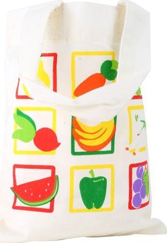 Small Foot Bawełniana torba na zakupy do zabawy dla dzieci, pomoce montessori uniw