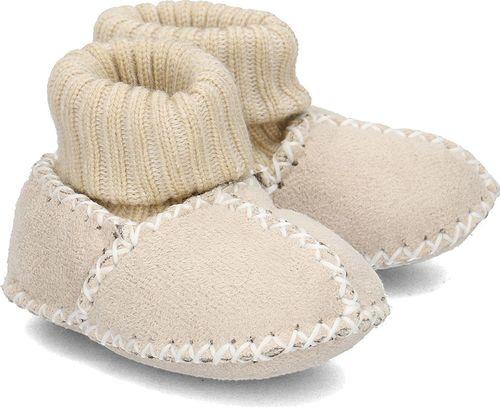 Playshoes Playshoes - Kapcie Dziecięce - 105933 2 - NATUR 20/21