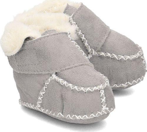 Playshoes Playshoes - Kapcie Dziecięce - 105932 33 - GRAU 16/17